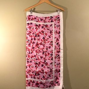 Large Kate Spade silk scarf